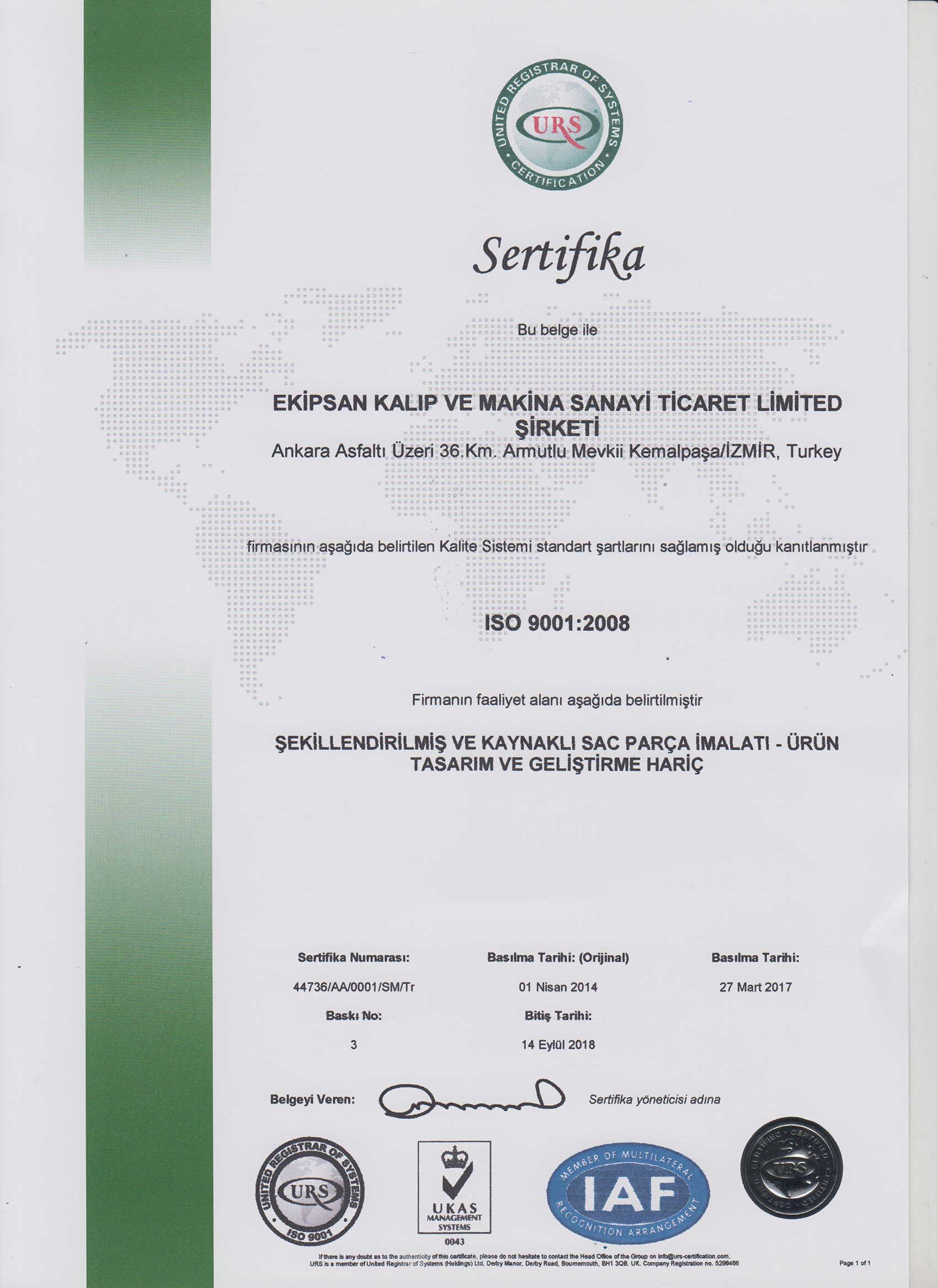 ISO 9001-2008 TR