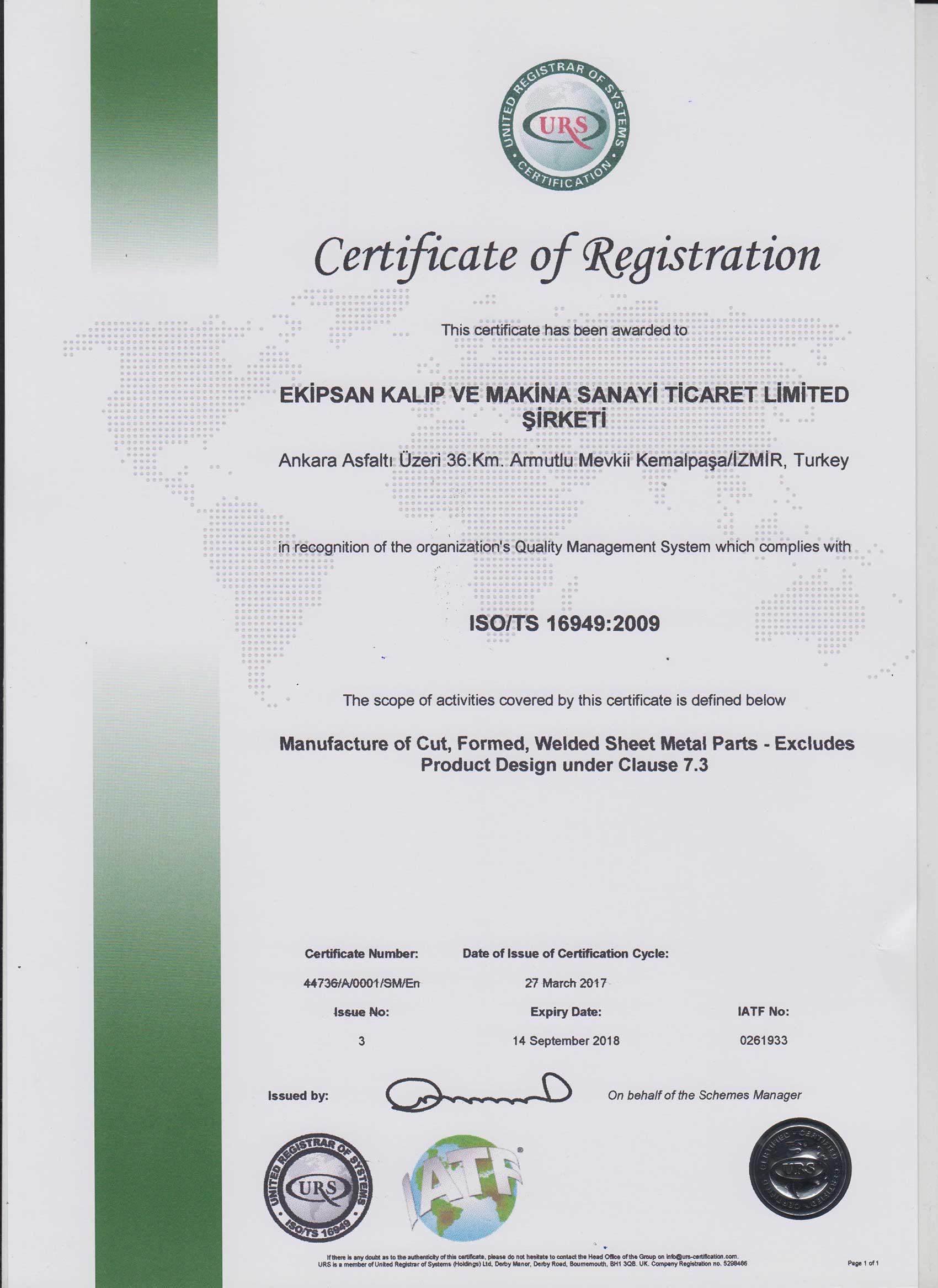 ISO TS 16949-2009 ENG